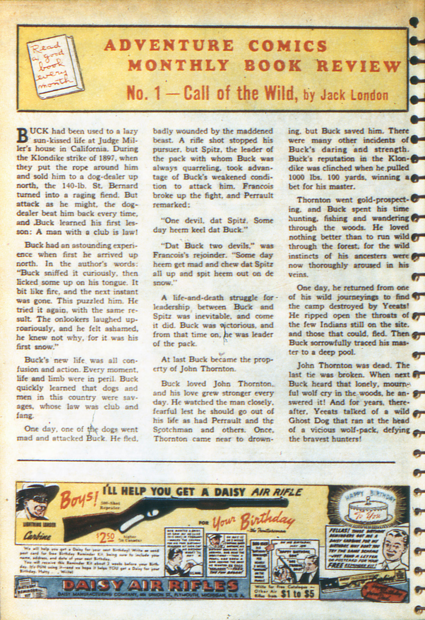 Read online Adventure Comics (1938) comic -  Issue #49 - 34