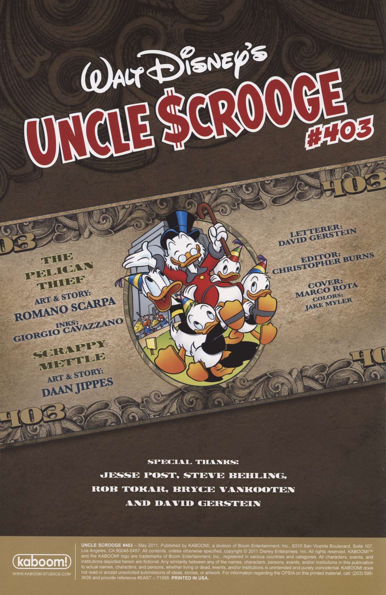 Read online Uncle Scrooge (1953) comic -  Issue #403 - 2