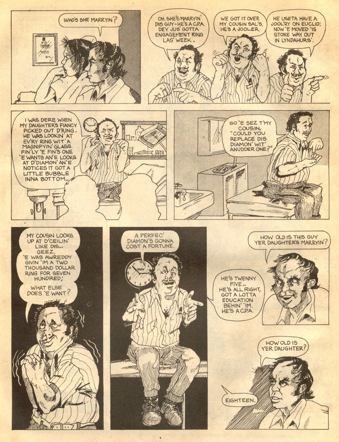 American Splendor (1976) issue 7 - Page 58