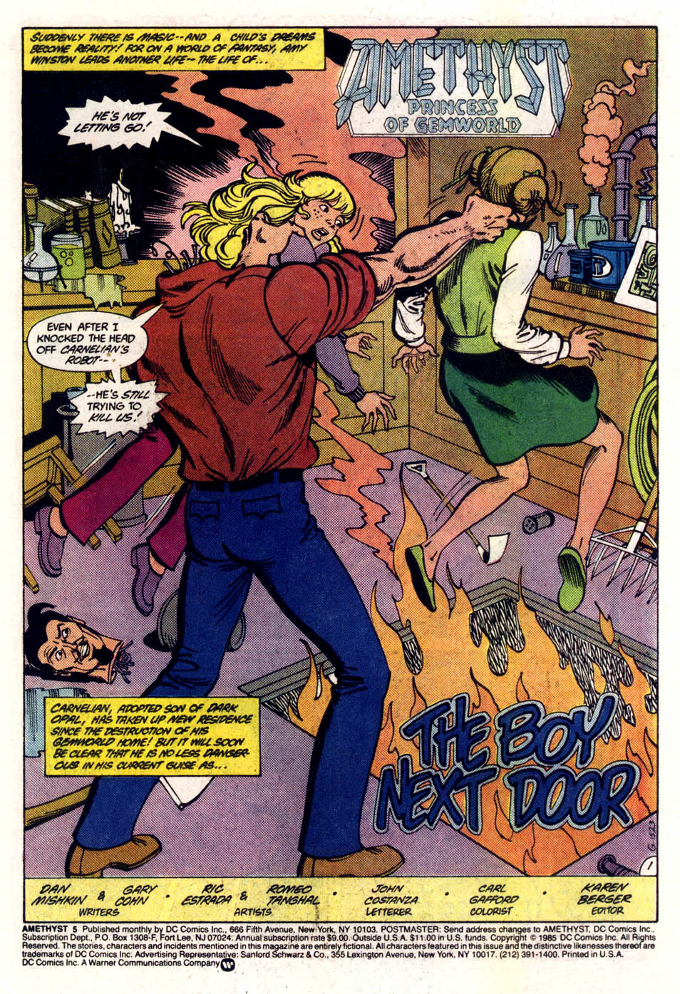 Read online Amethyst (1985) comic -  Issue #5 - 2