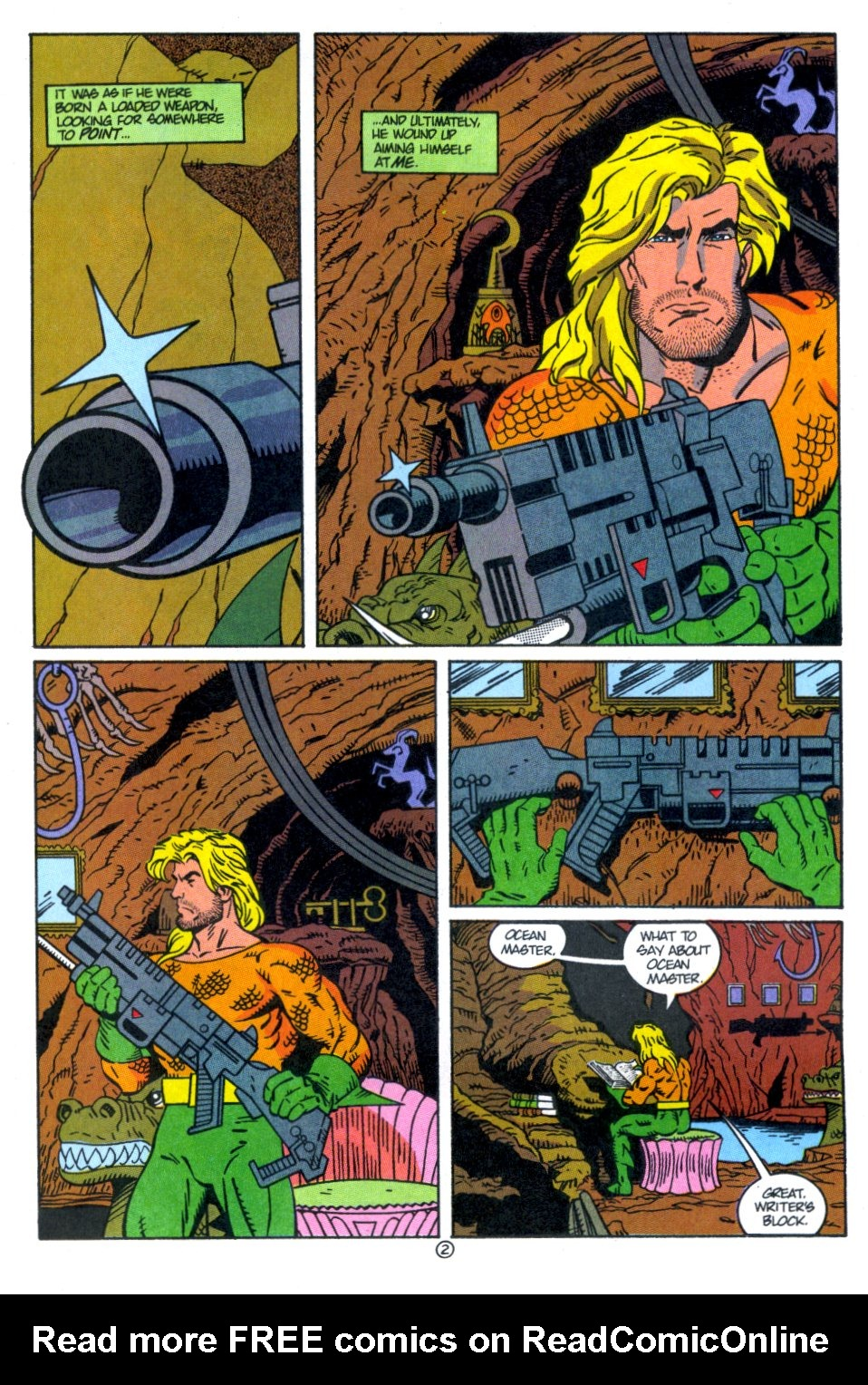 Read online Aquaman: Time and Tide comic -  Issue #4 - 3