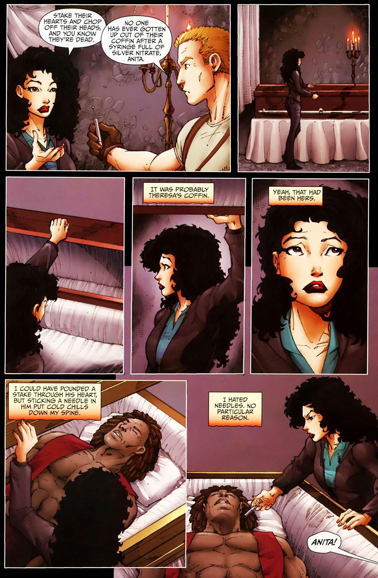 Read online Anita Blake, Vampire Hunter: Guilty Pleasures comic -  Issue #11 - 18