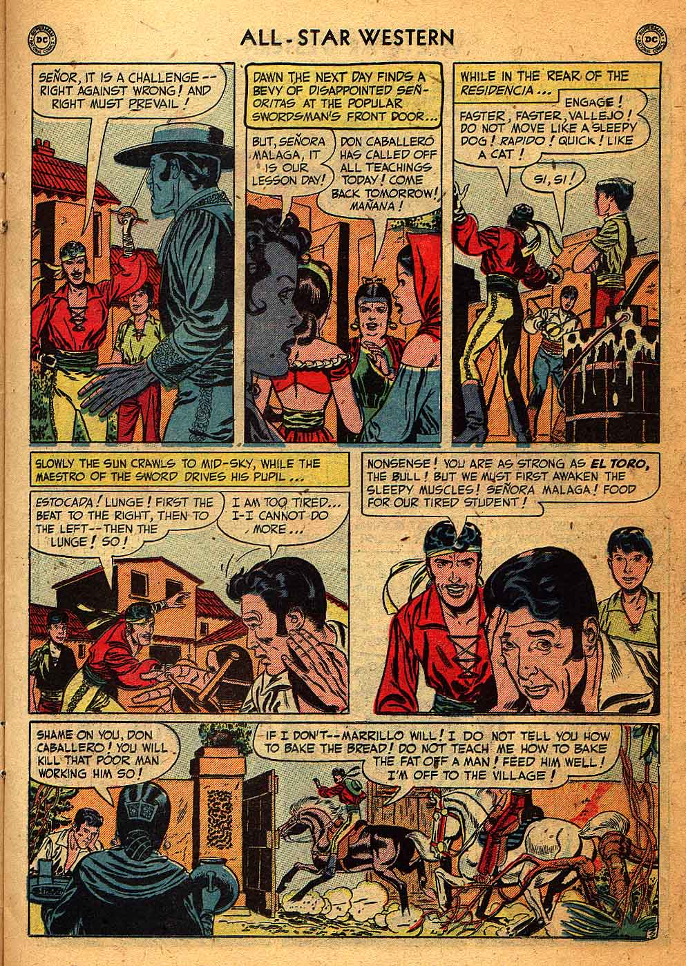 Read online All-Star Western (1951) comic -  Issue #58 - 17
