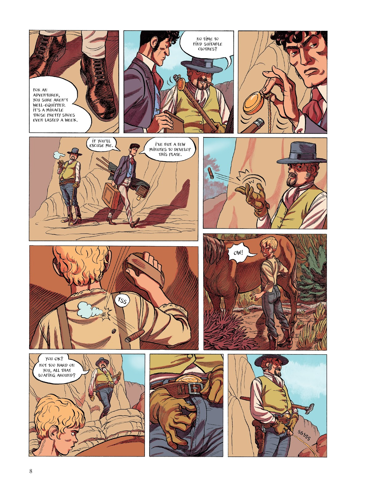 Read online The Smell of Starving Boys comic -  Issue # TPB - 9
