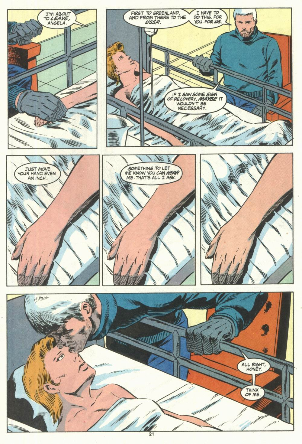 Read online Justice (1986) comic -  Issue #28 - 23