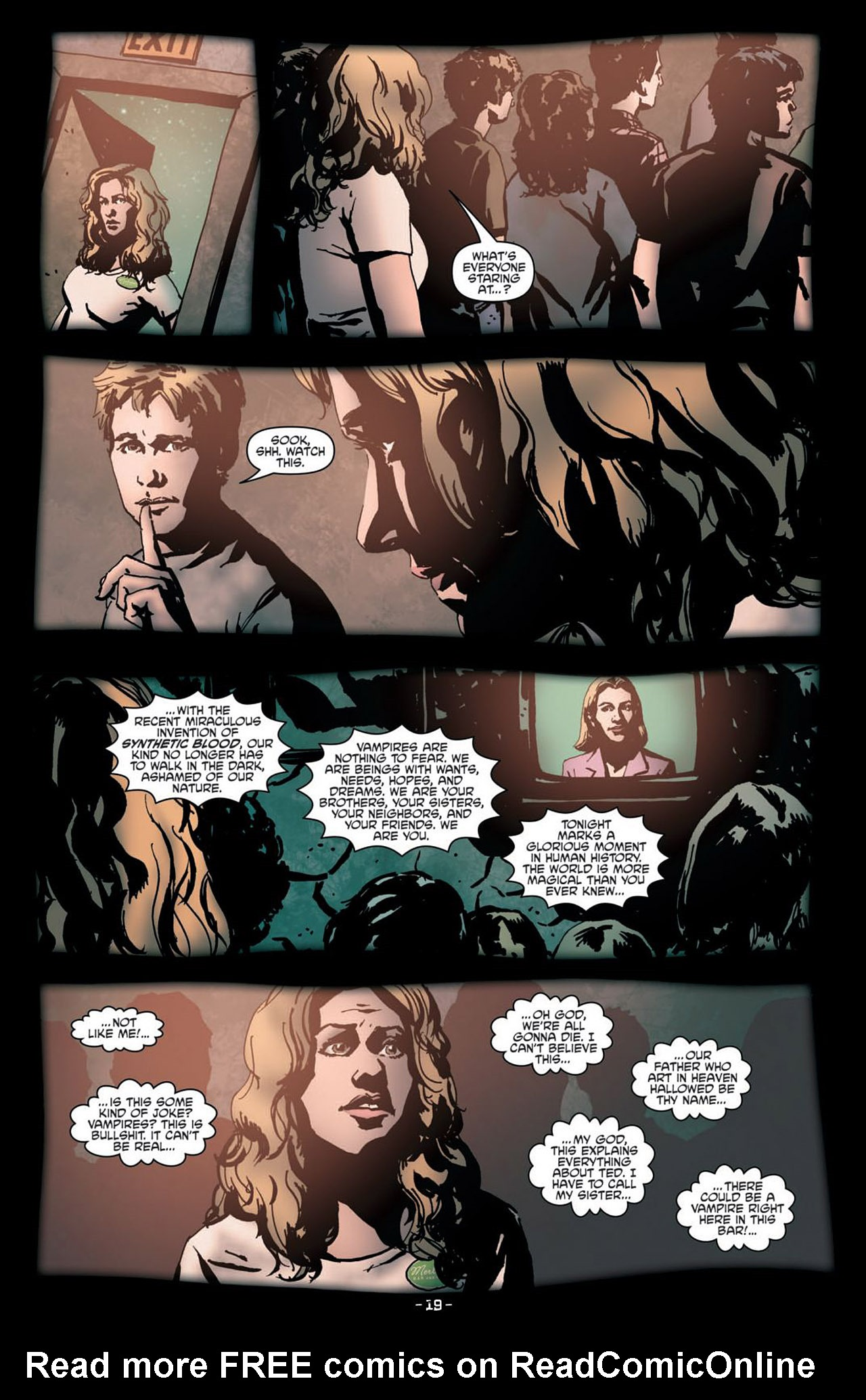 Read online True Blood (2012) comic -  Issue #1 - 22