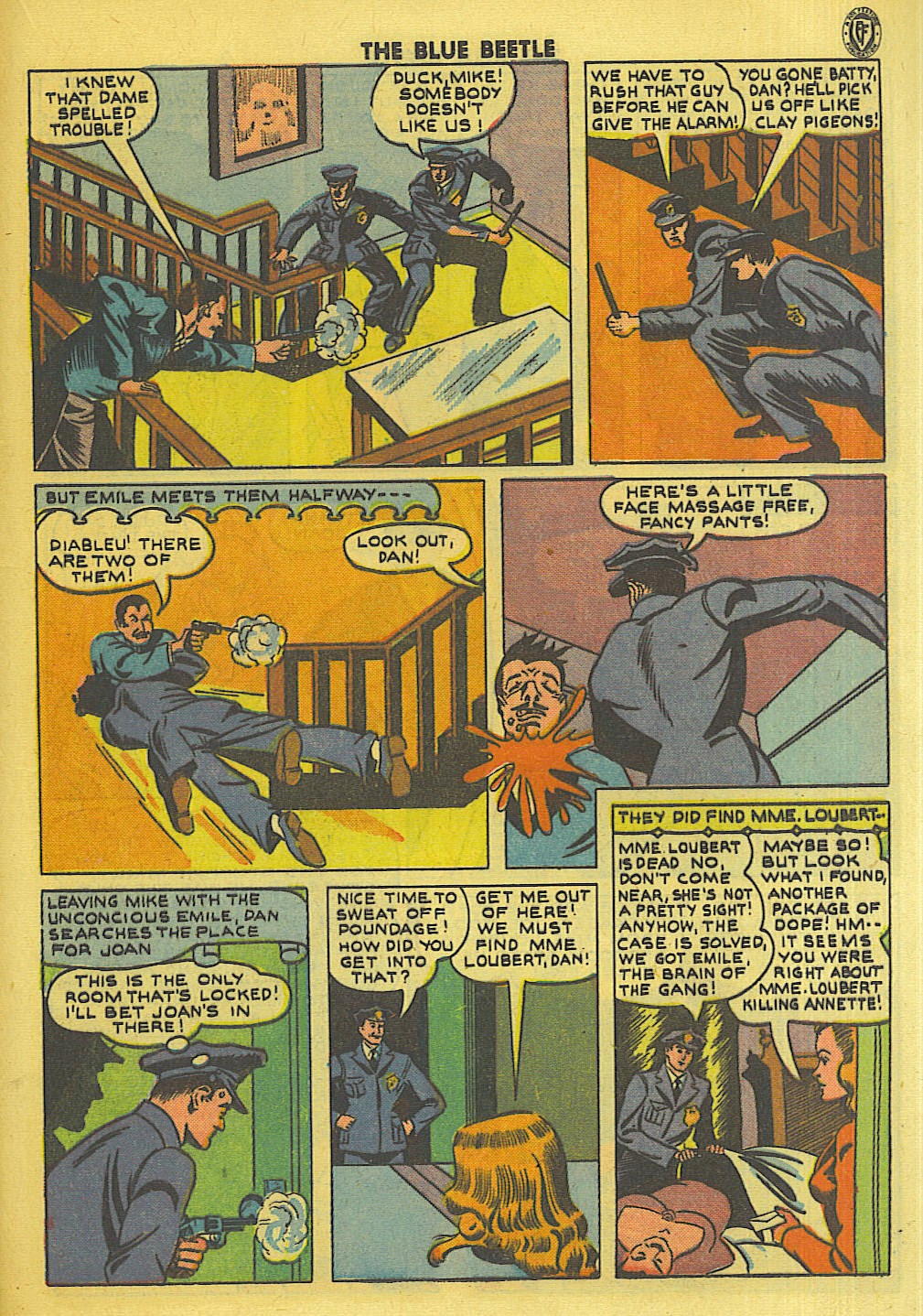 The Blue Beetle issue 35 - Page 28