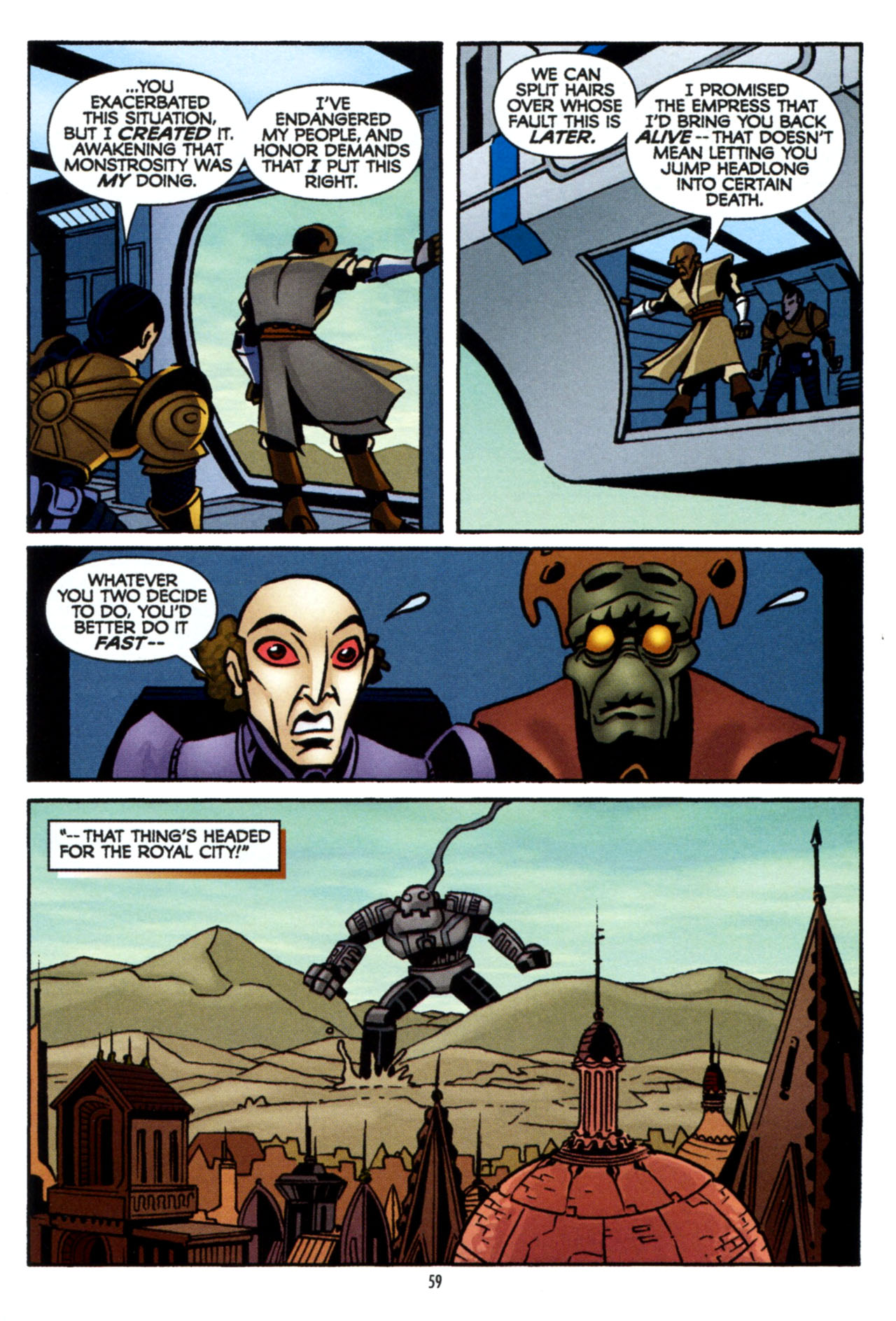 Read online Star Wars: The Clone Wars - The Colossus of Destiny comic -  Issue # Full - 59
