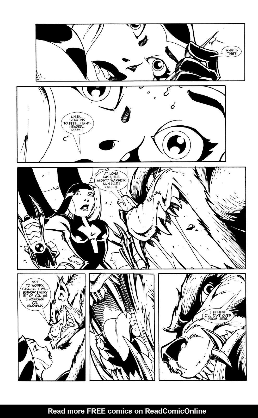 Warrior Nun Areala:  Dangerous Game Issue #1 #1 - English 16