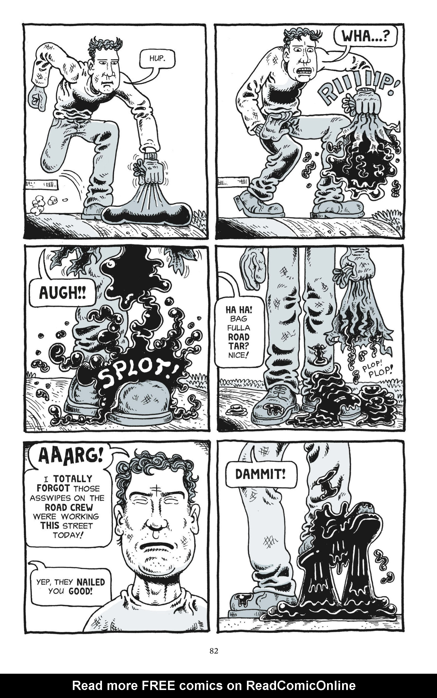 Read online Trashed comic -  Issue # Full - 81