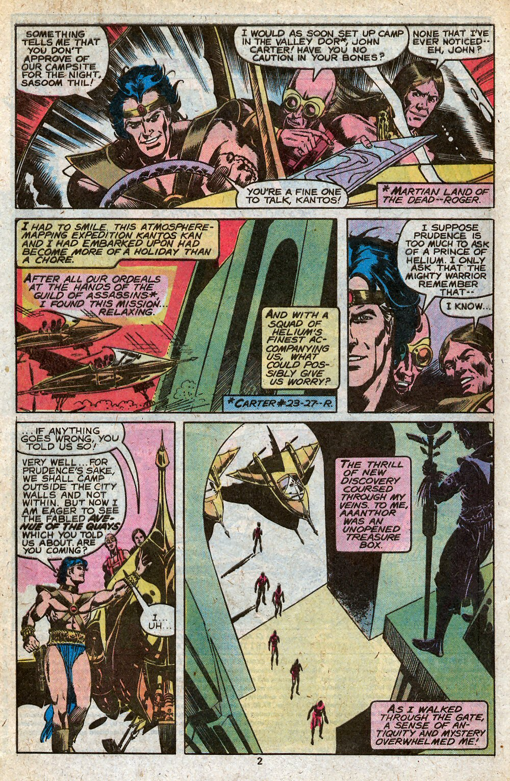 John Carter Warlord of Mars issue 28 - Page 4
