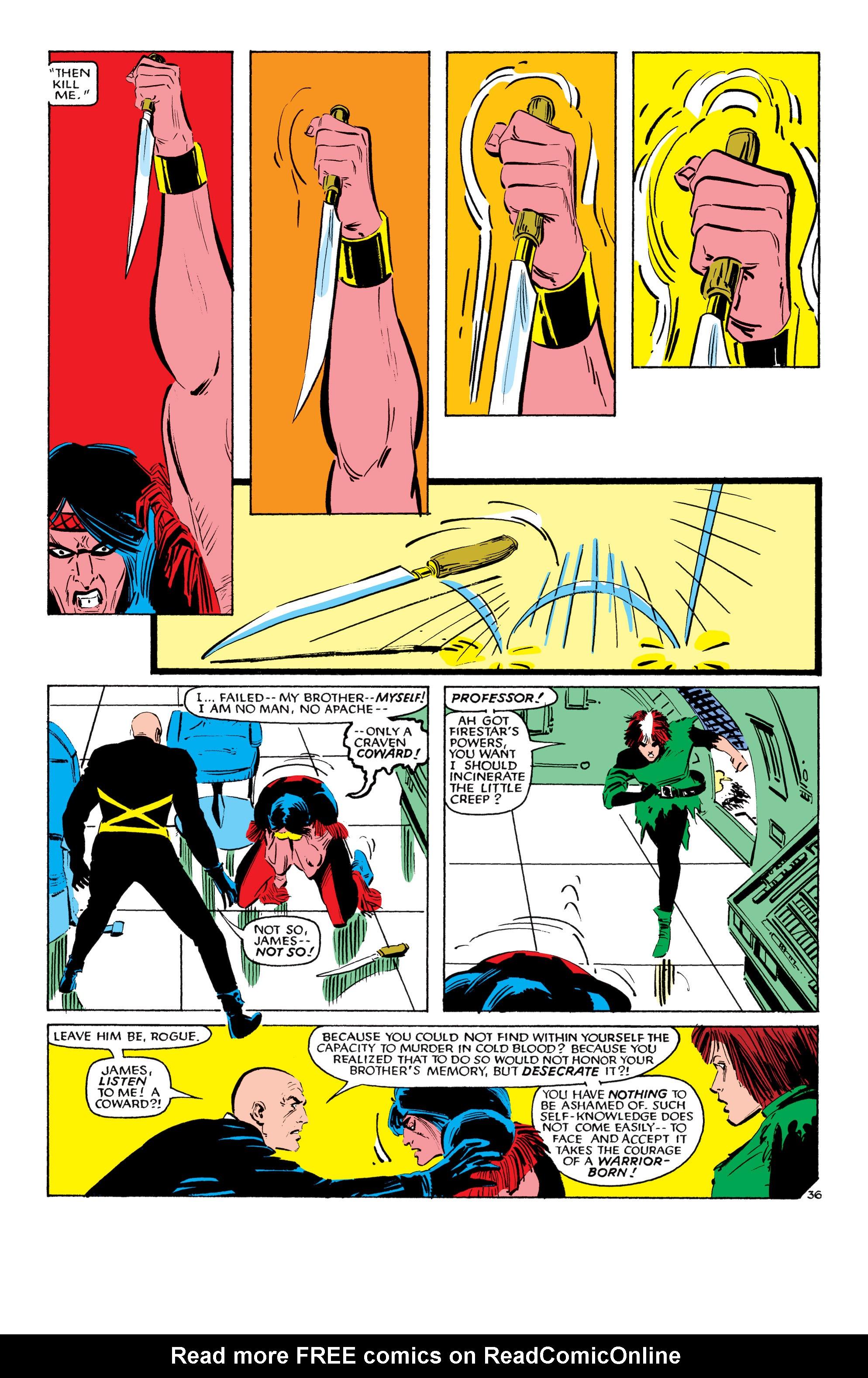 Read online Uncanny X-Men (1963) comic -  Issue #193 - 37