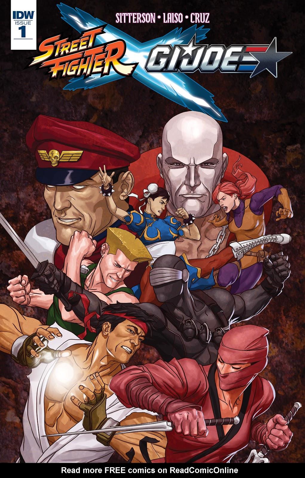 Street Fighter X G.I. Joe 1 Page 1
