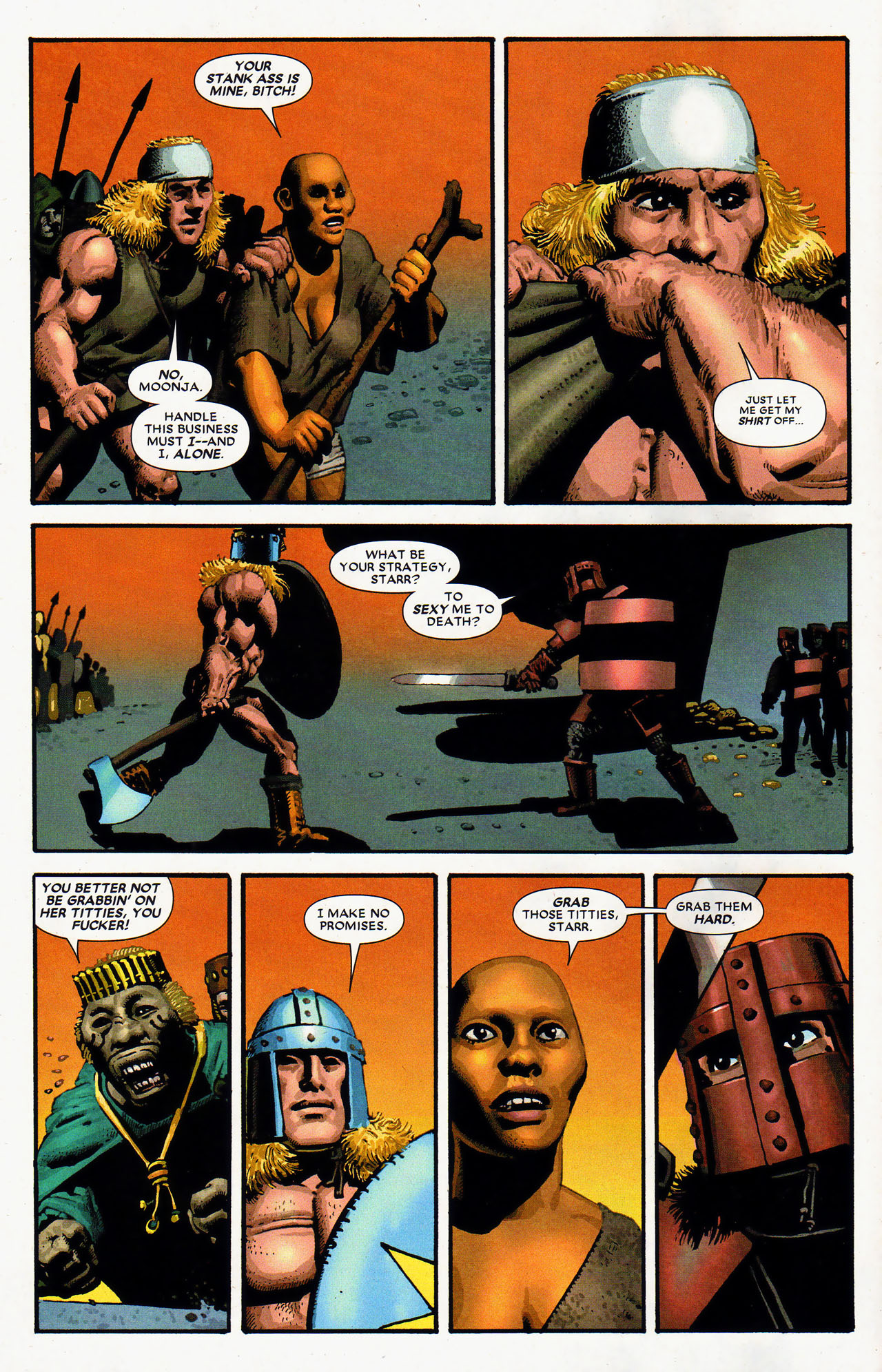 Read online Starr the Slayer comic -  Issue #4 - 5