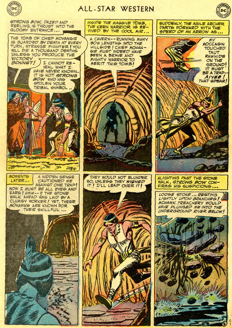 Read online All-Star Western (1951) comic -  Issue #64 - 30
