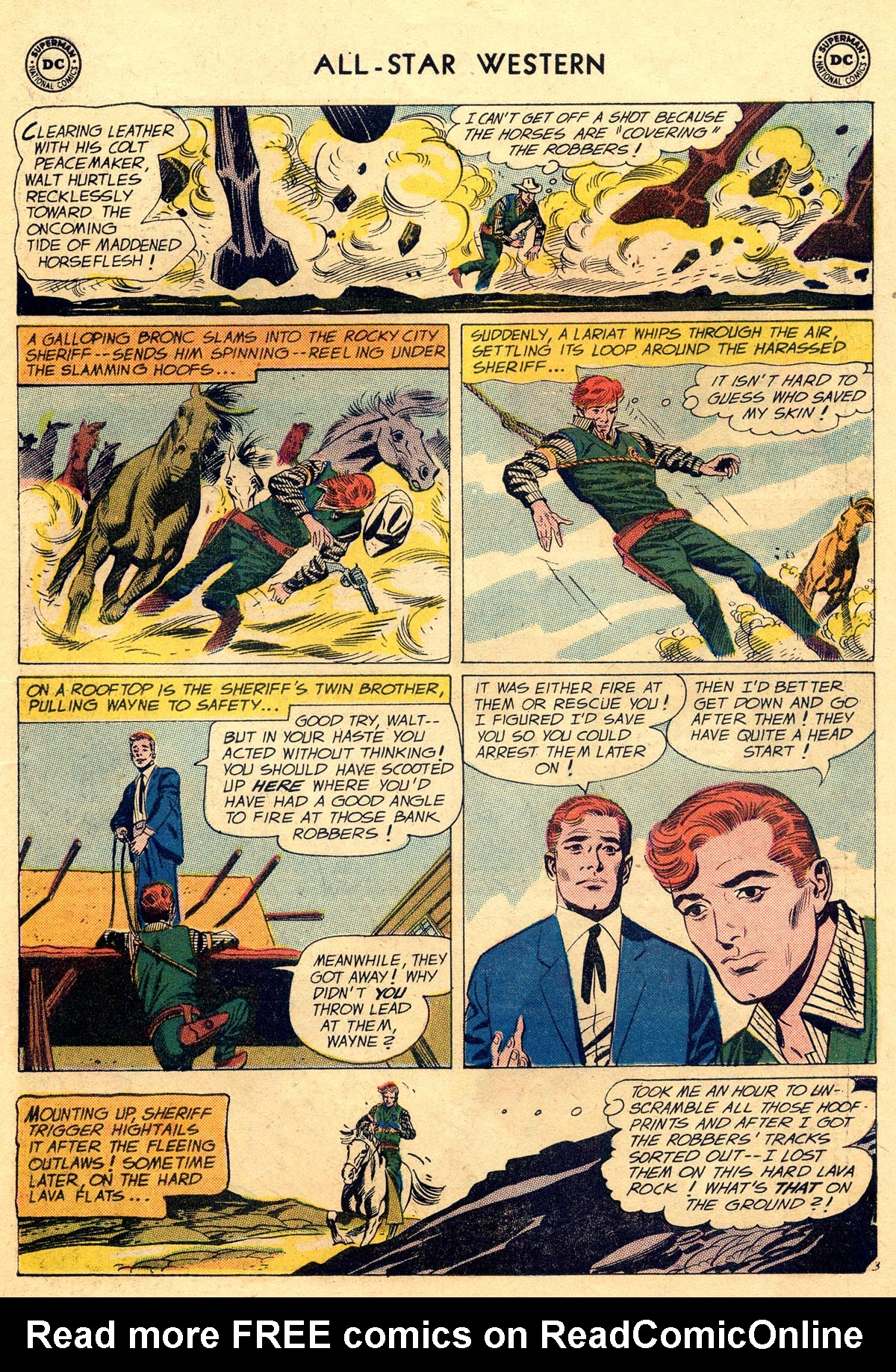 Read online All-Star Western (1951) comic -  Issue #109 - 27