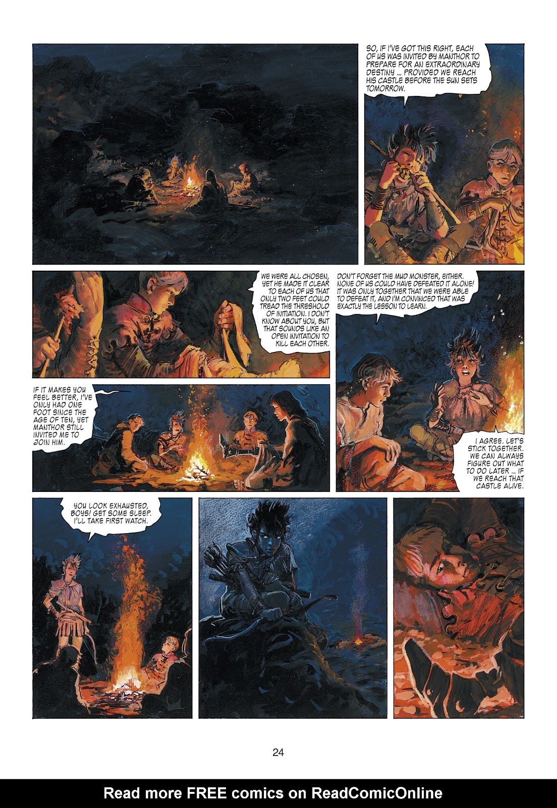 Read online Thorgal comic -  Issue #22 - 26