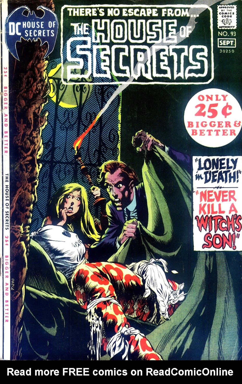 House of Secrets (1956) issue 93 - Page 1