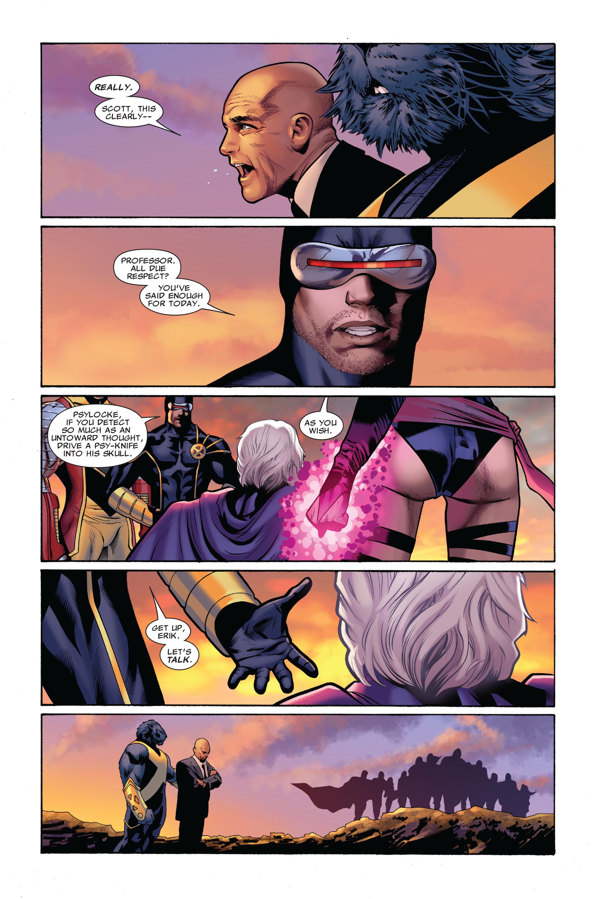 Read online Uncanny X-Men (1963) comic -  Issue #516 - 16
