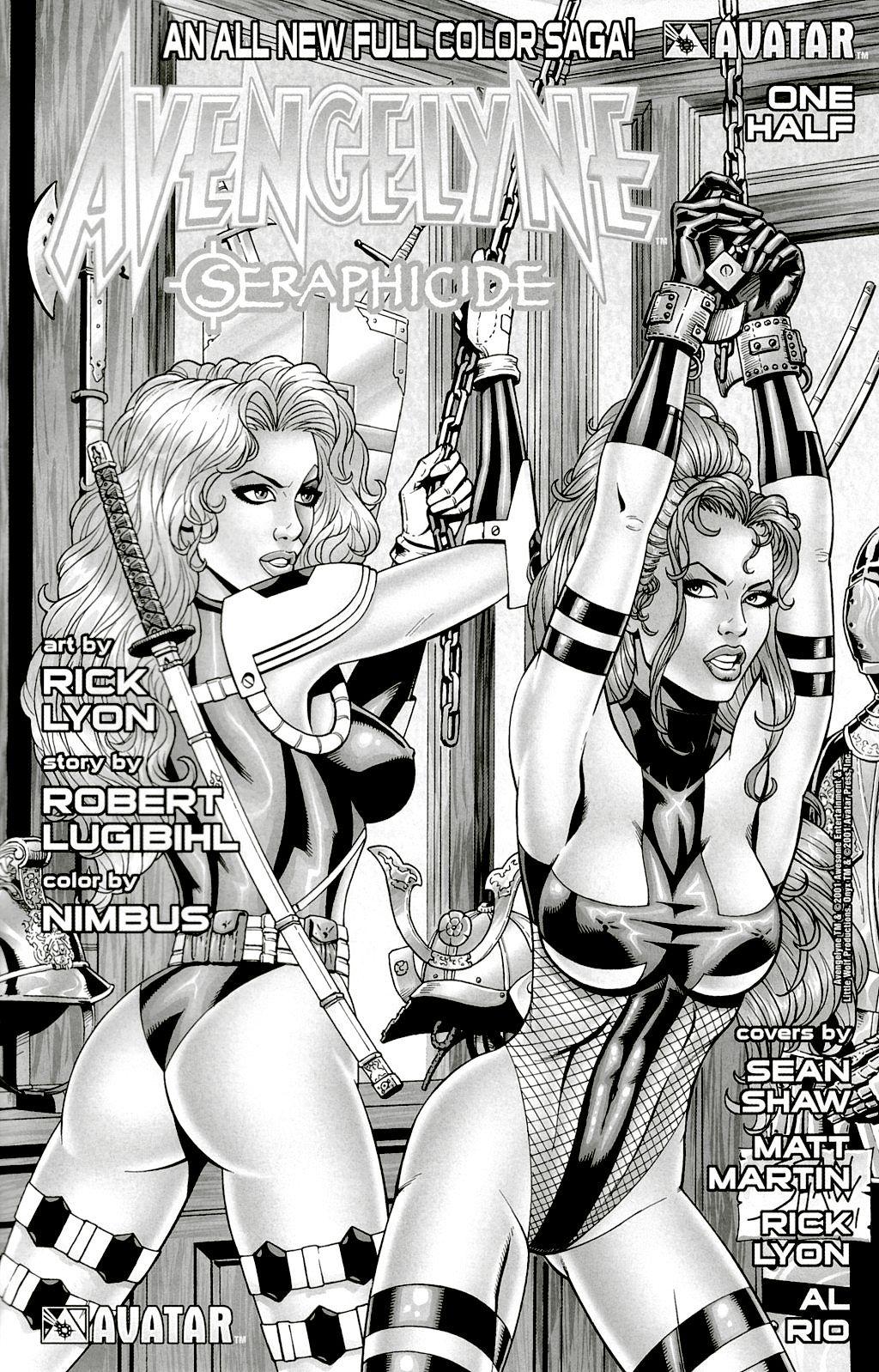 Read online Avengelyne: Dragon Realm comic -  Issue #1 - 36