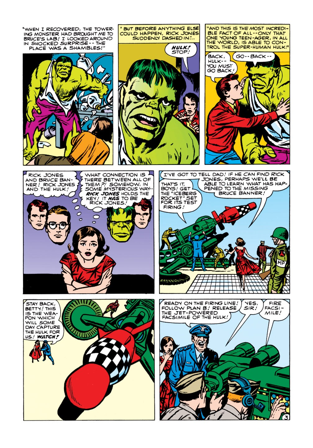 Read online Marvel Masterworks: The Incredible Hulk comic -  Issue # TPB 1 (Part 1) - 81