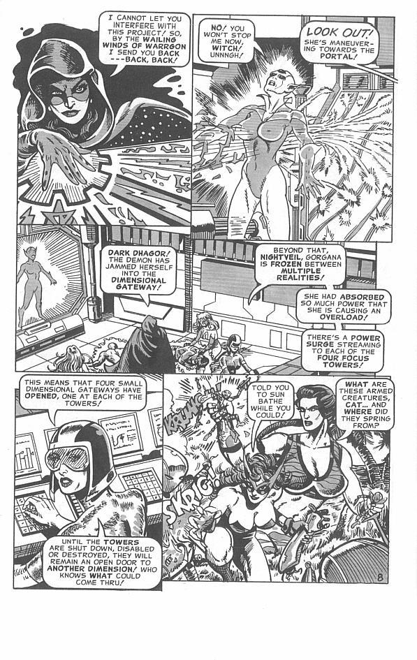 Femforce Issue #113 #113 - English 11
