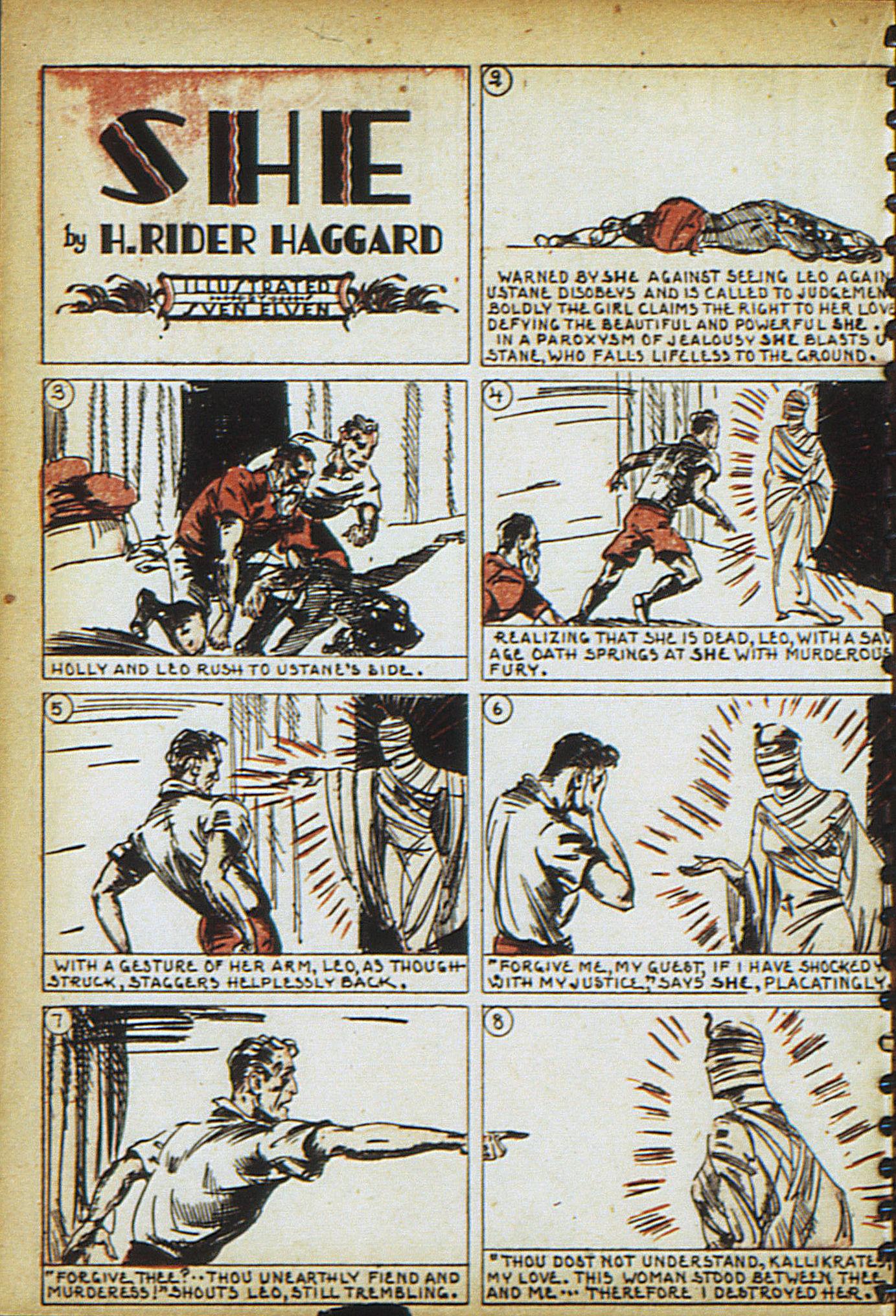 Read online Adventure Comics (1938) comic -  Issue #18 - 39