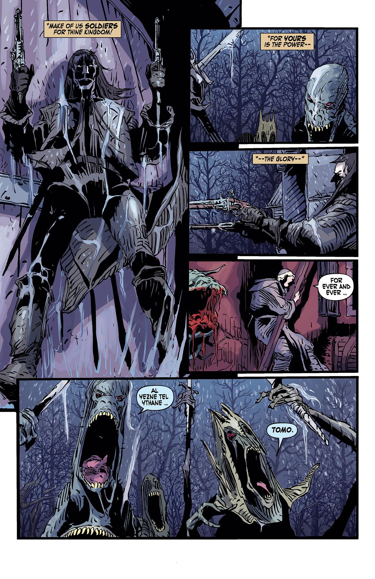 Read online Solomon Kane: Death's Black Riders comic -  Issue #3 - 23