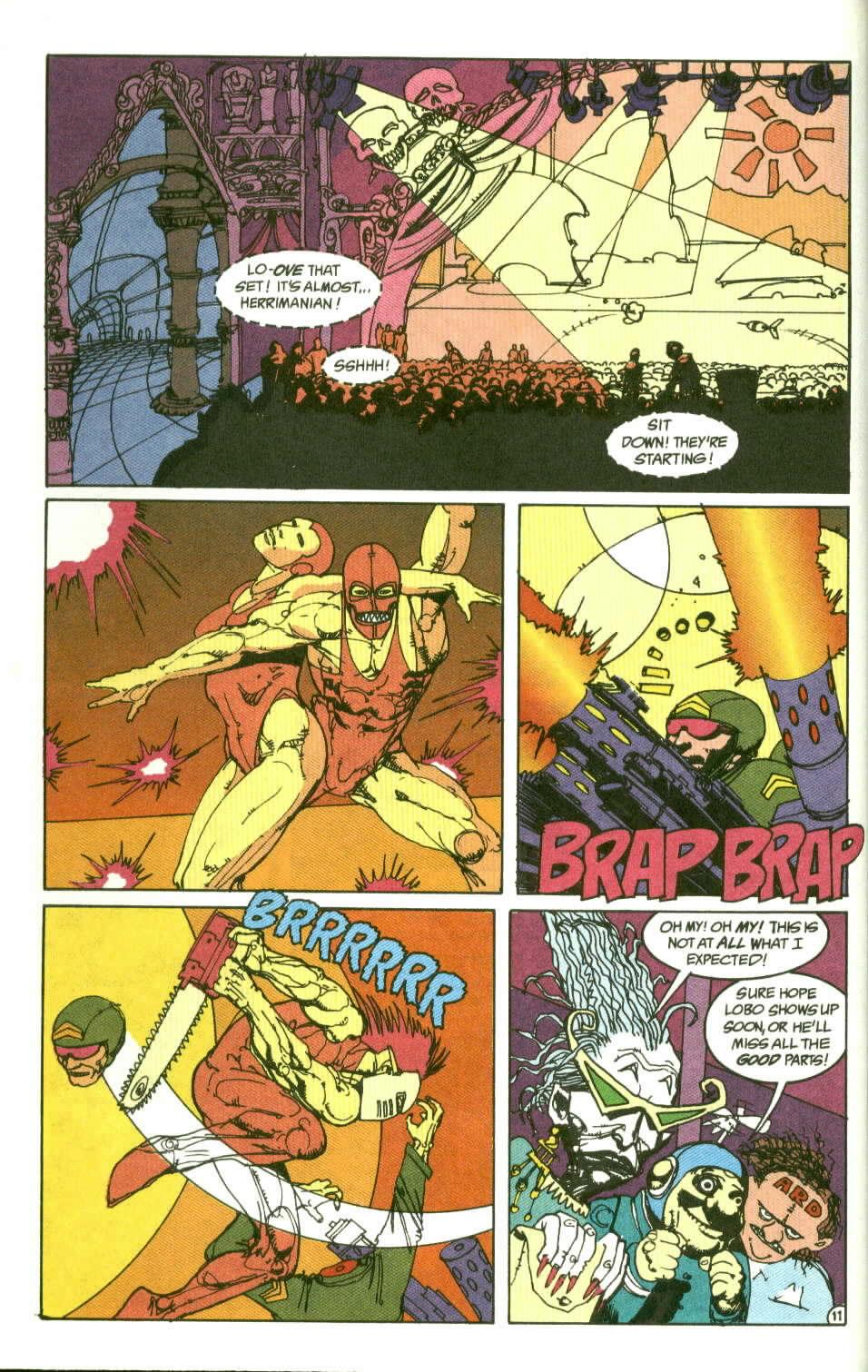 Read online Lobo (1990) comic -  Issue #2 - 12
