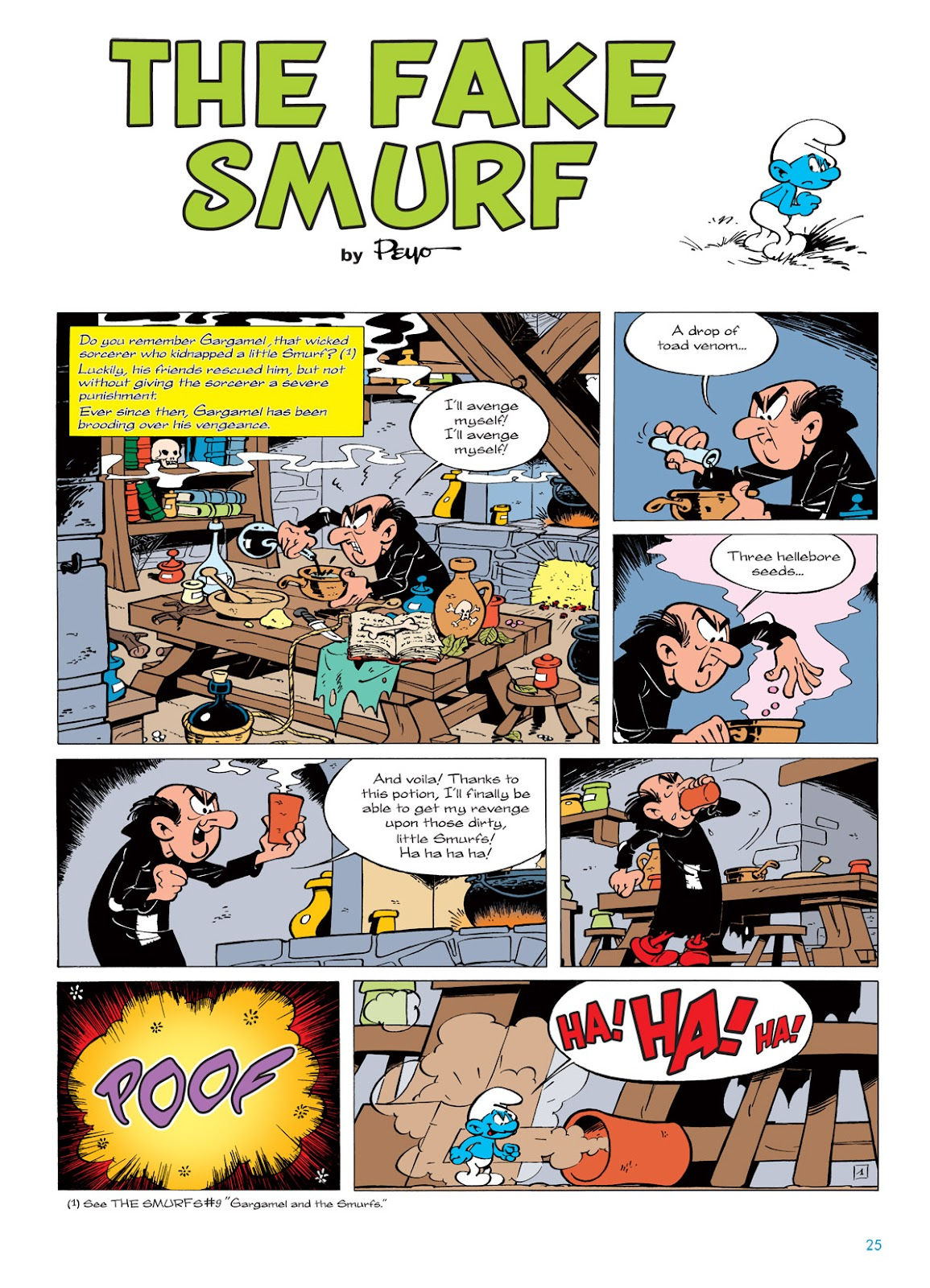 Read online The Smurfs comic -  Issue #5 - 25