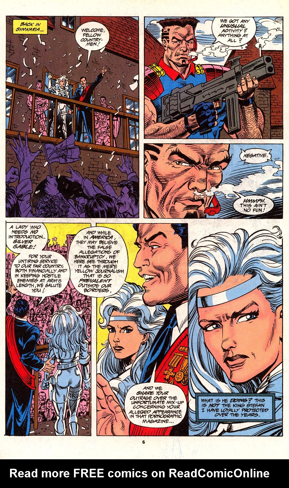 Read online Silver Sable and the Wild Pack comic -  Issue #24 - 6