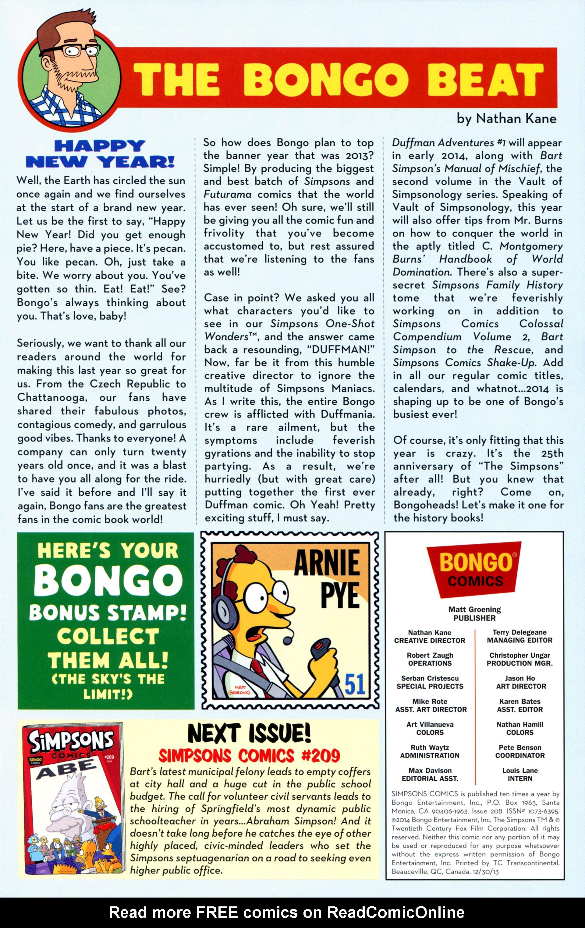 Read online Simpsons Comics comic -  Issue #208 - 27