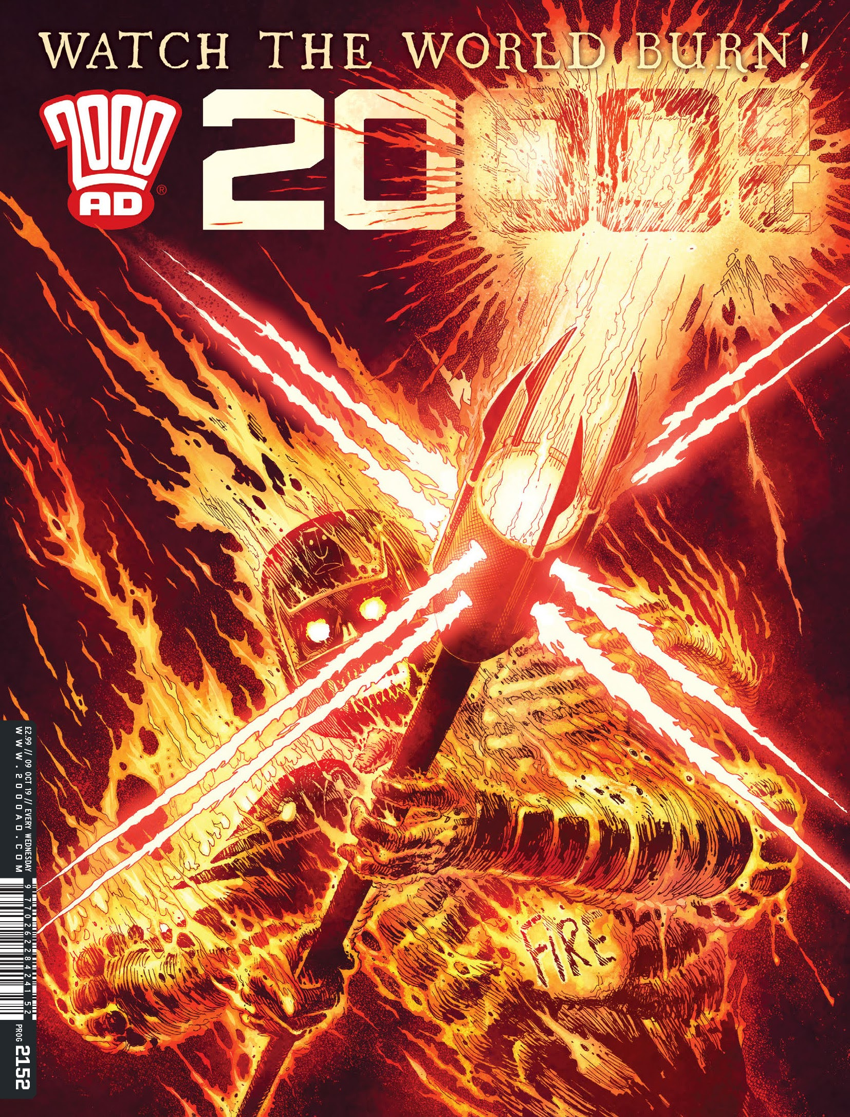2000 AD 2152 Page 1