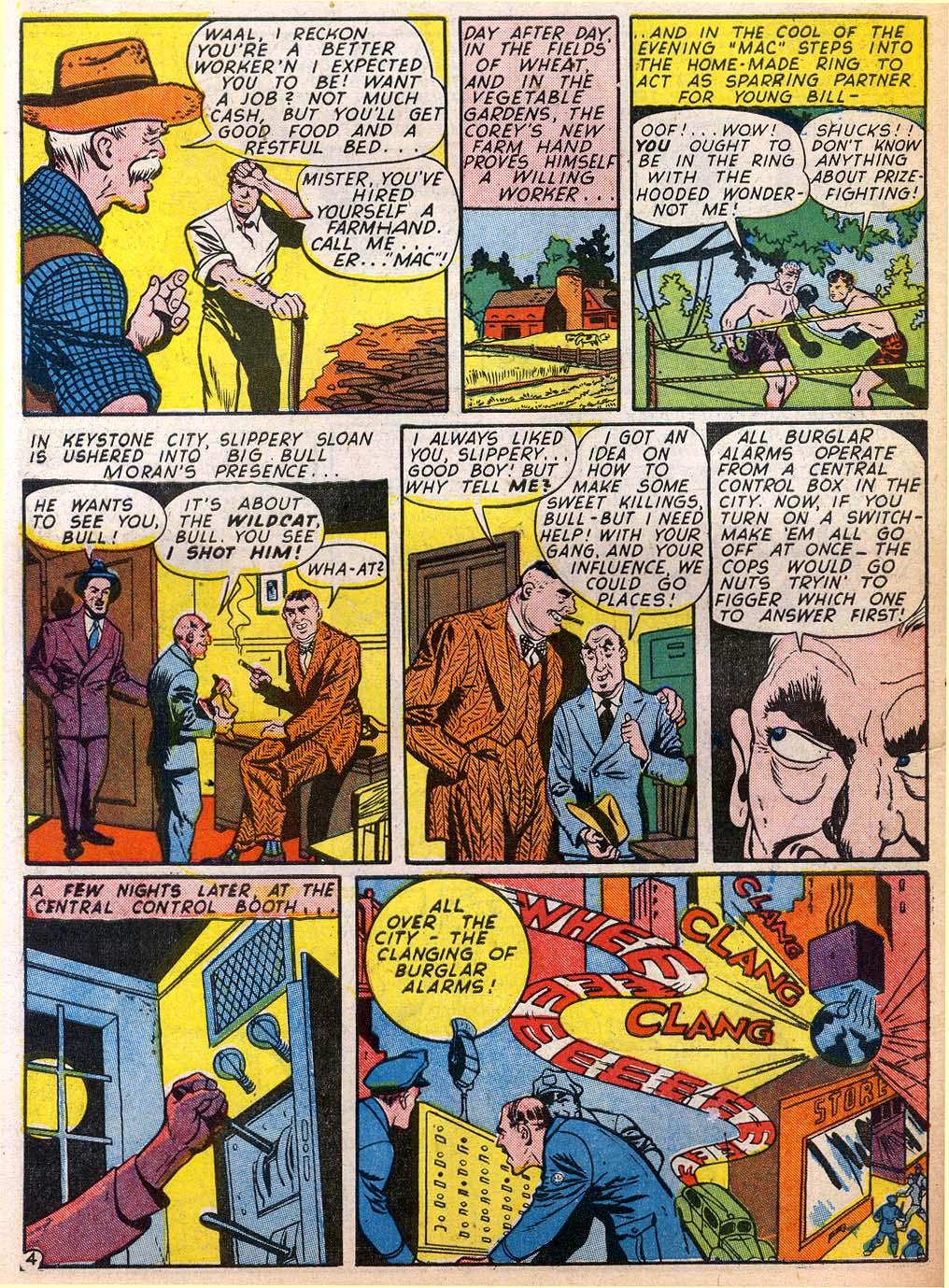 Read online Sensation (Mystery) Comics comic -  Issue #27 - 52