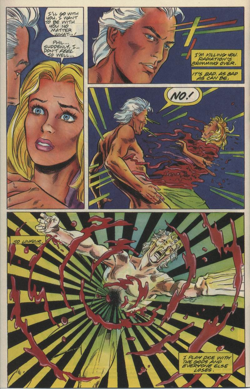 Read online Solar, Man of the Atom comic -  Issue #21 - 5