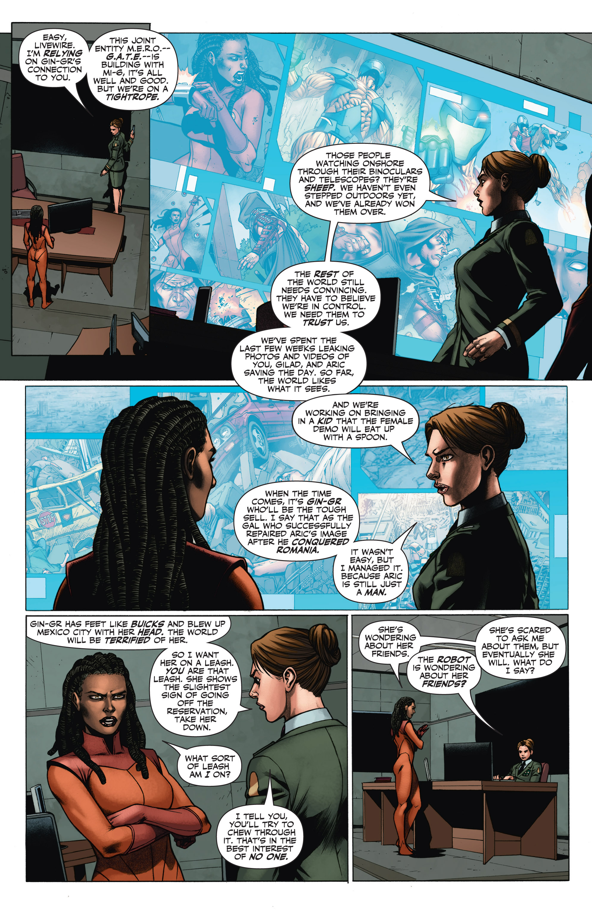 Read online Armor Hunters: Aftermath comic -  Issue # Full - 11