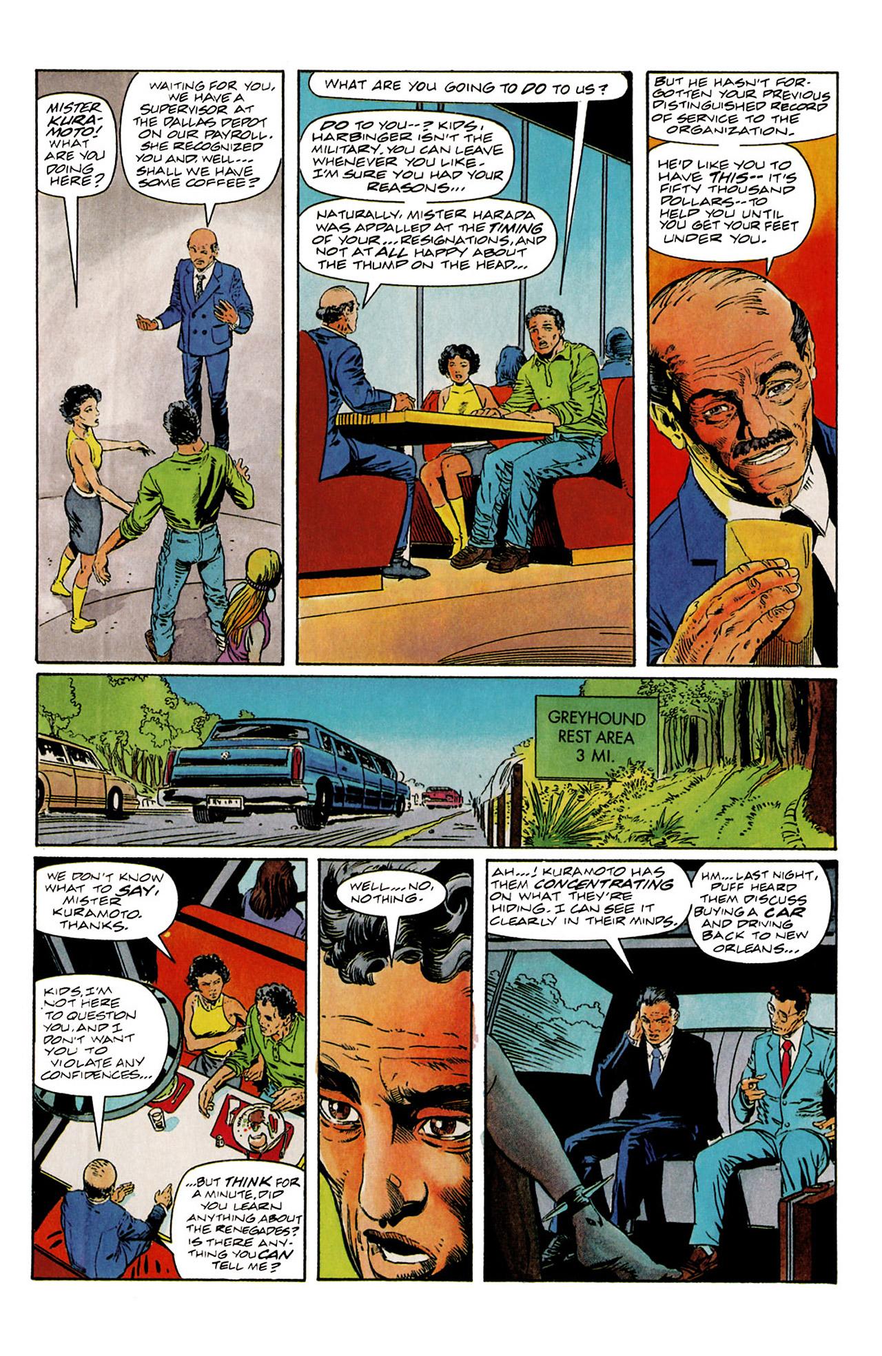Read online Harbinger (1992) comic -  Issue #6 - 13