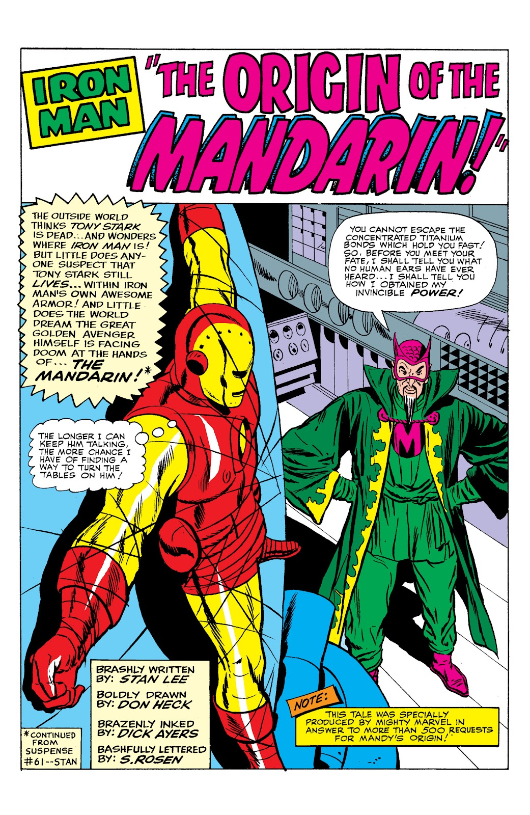 Read online Marvel Masterworks: The Invincible Iron Man comic -  Issue # TPB 2 (Part 2) - 87