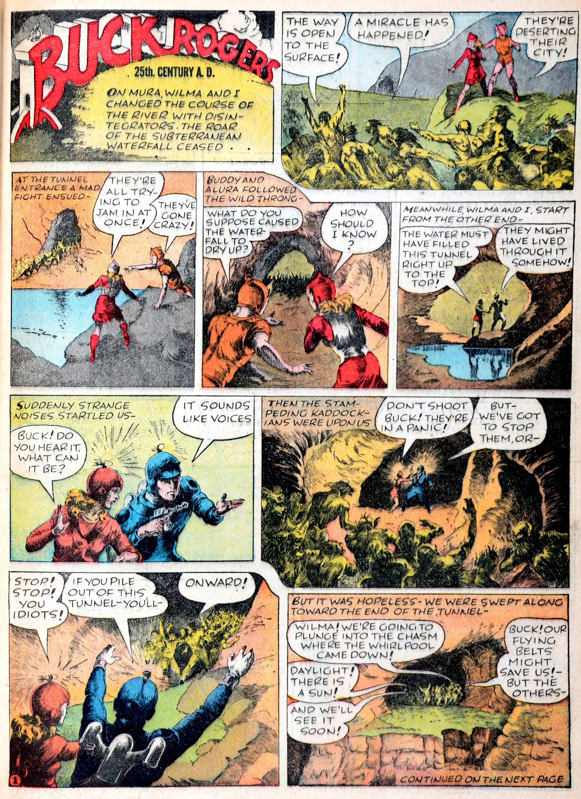 Read online Famous Funnies comic -  Issue #38 - 19