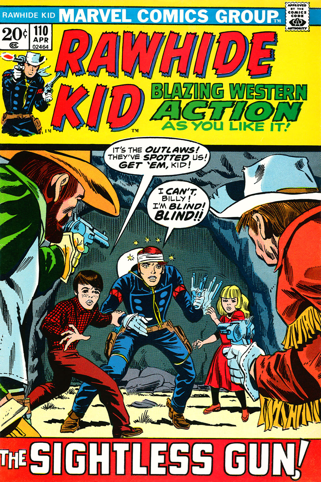 The Rawhide Kid (1955) issue 110 - Page 1