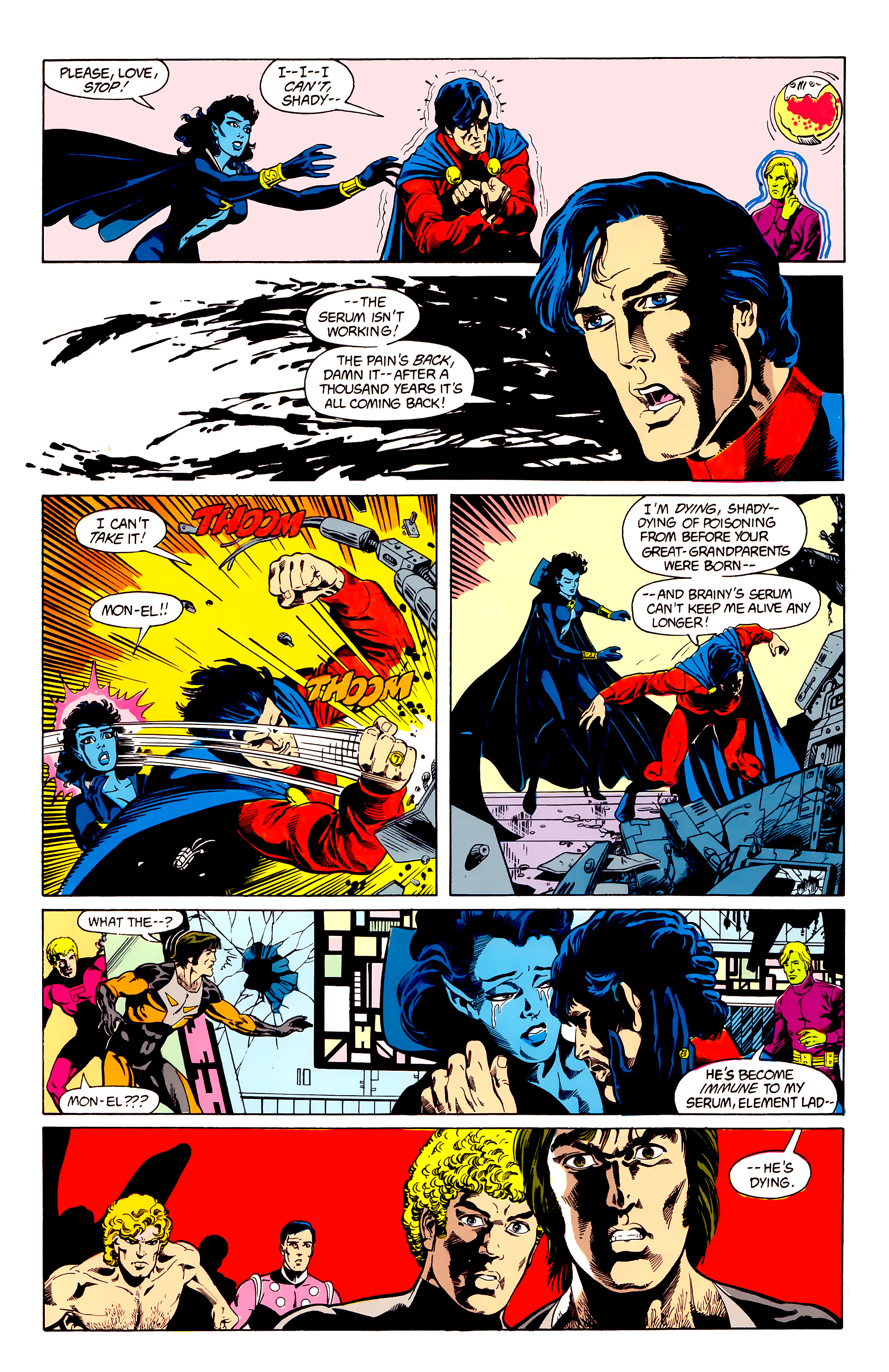 Legion of Super-Heroes (1984) 23 Page 4