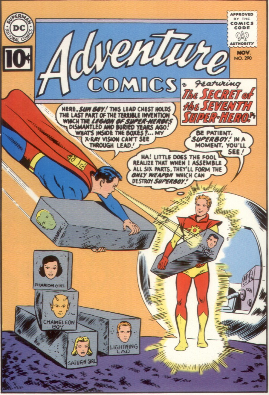 Read online Adventure Comics (1938) comic -  Issue #290 - 1