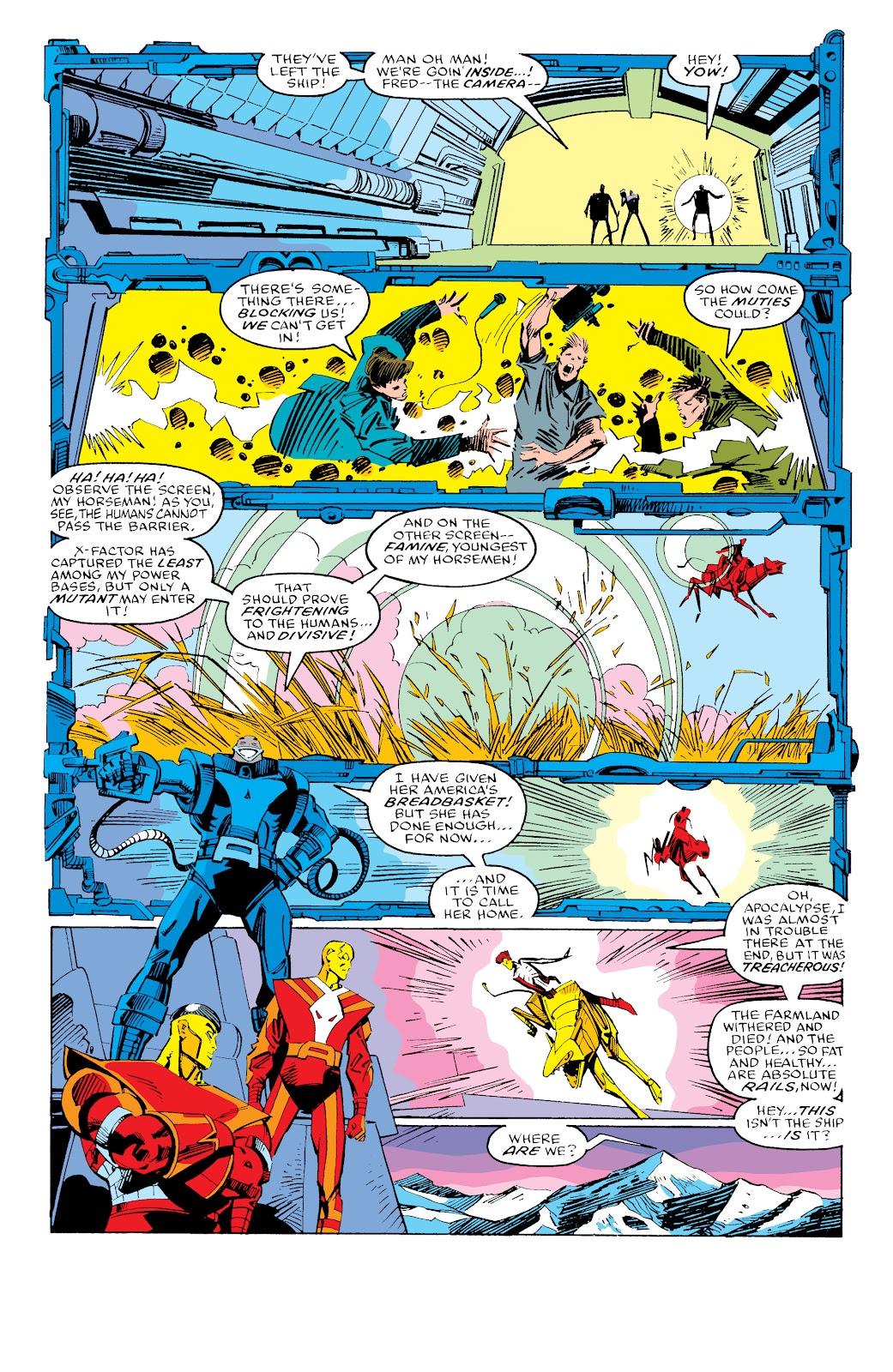 Read online X-Men Milestones: Fall of the Mutants comic -  Issue # TPB (Part 3) - 49