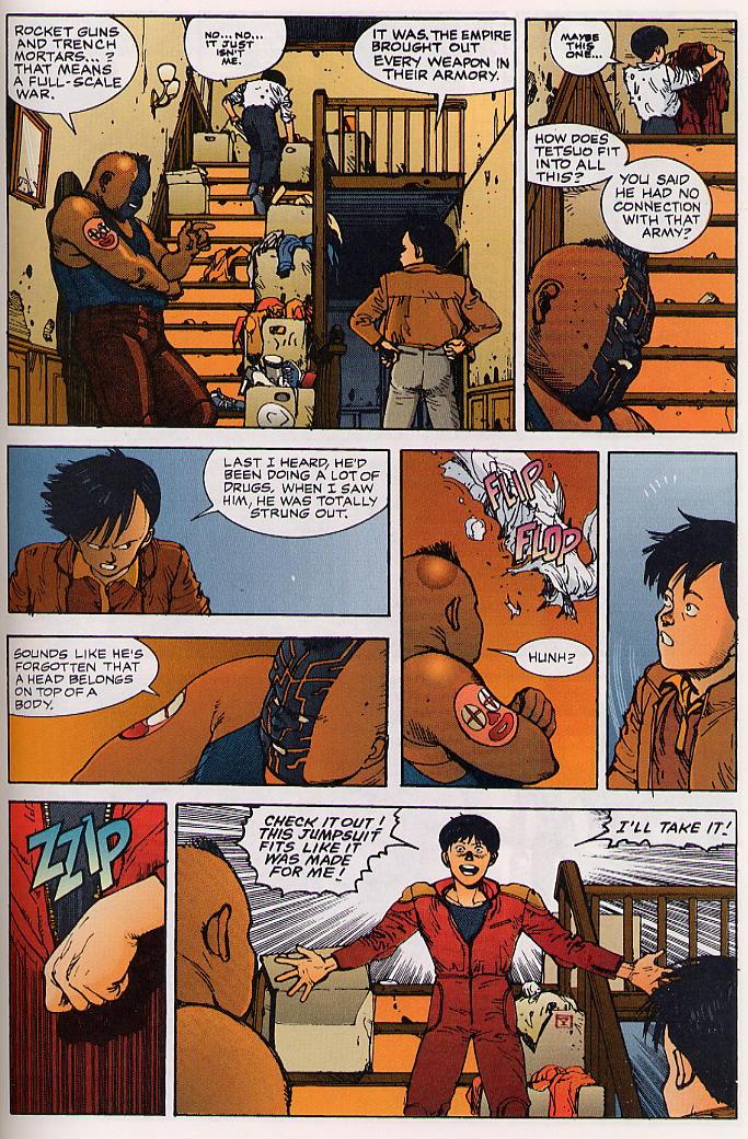 Read online Akira comic -  Issue #24 - 55