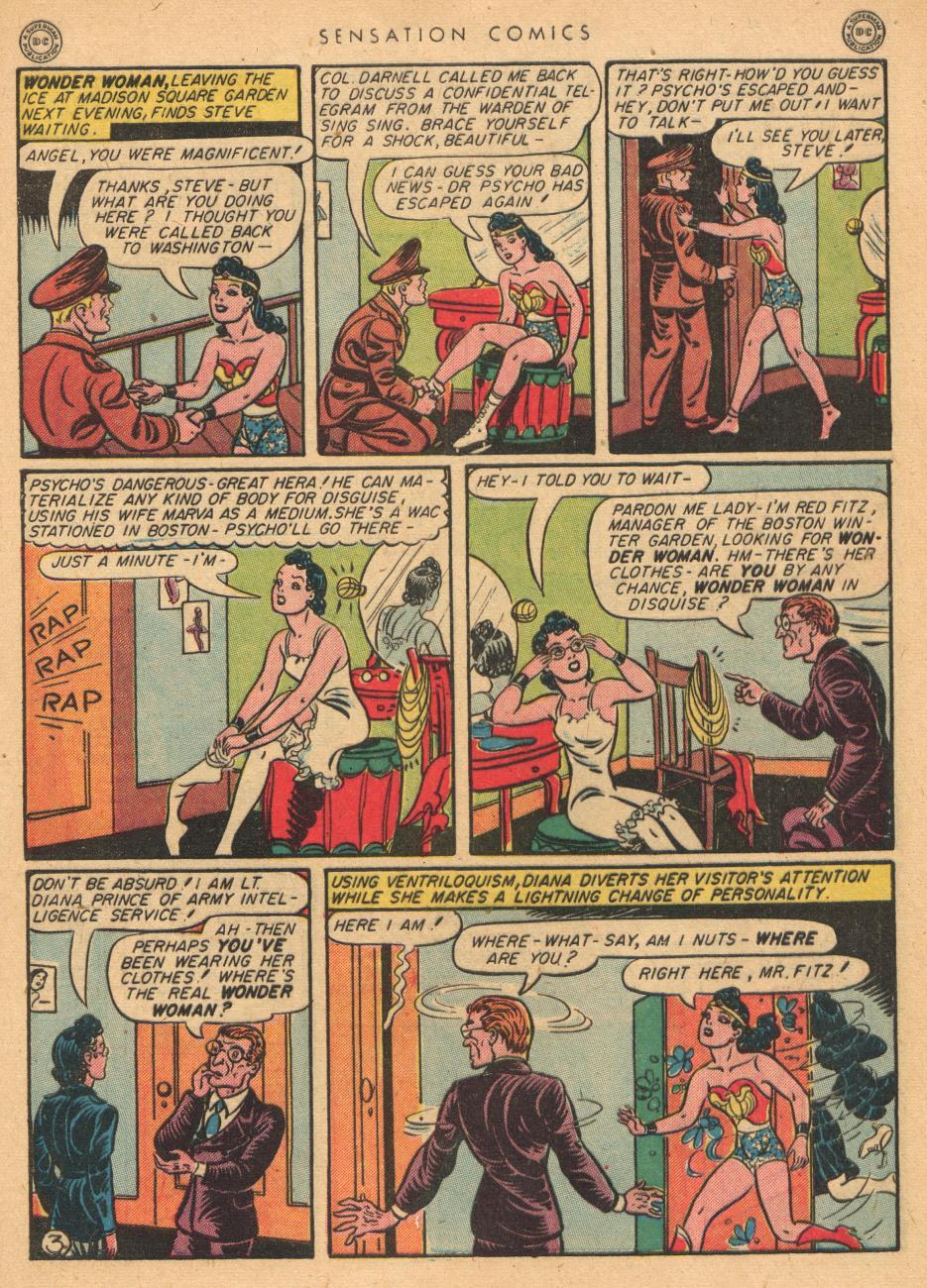 Read online Sensation (Mystery) Comics comic -  Issue #36 - 5