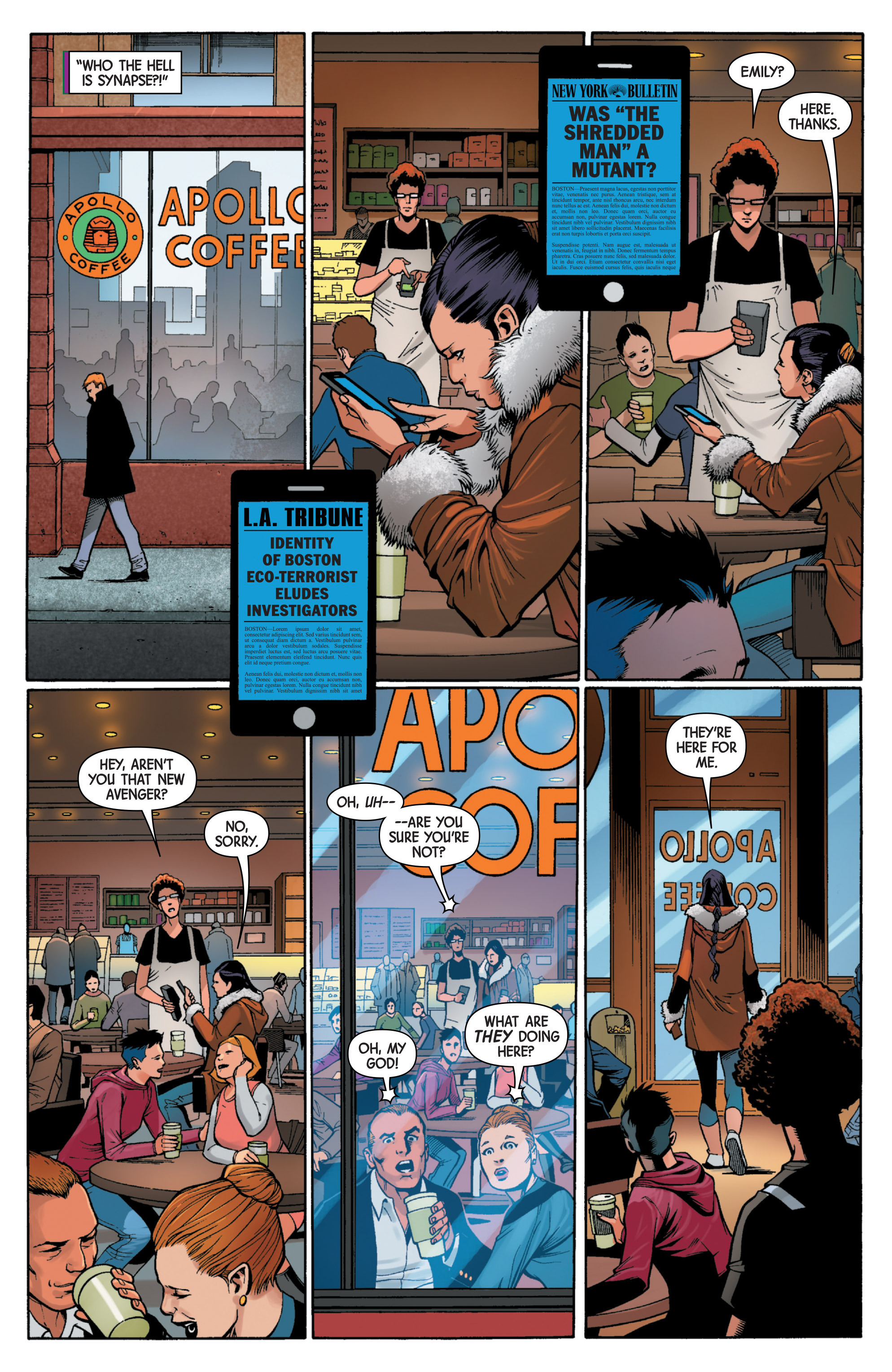 Read online Uncanny Avengers [II] comic -  Issue #6 - 7