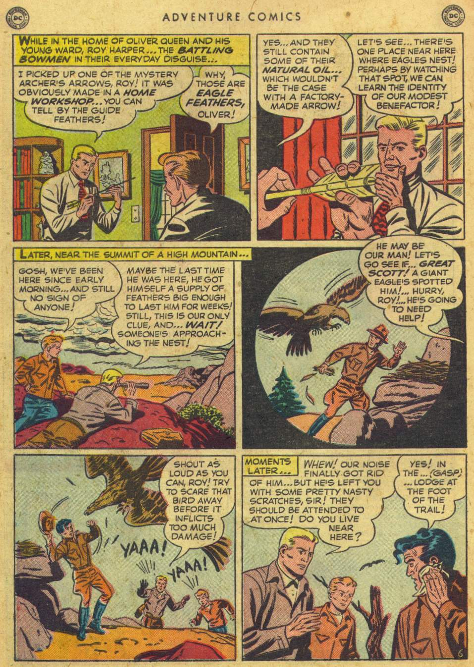 Read online Adventure Comics (1938) comic -  Issue #162 - 44