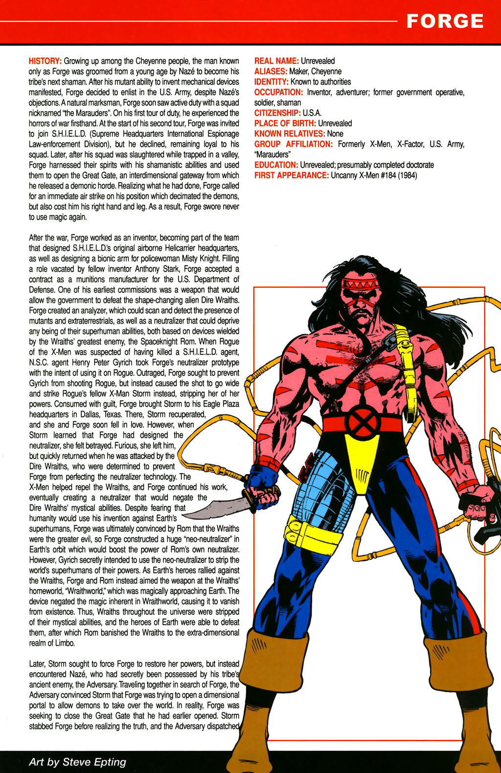 Read online All-New Official Handbook of the Marvel Universe A to Z comic -  Issue #4 - 43