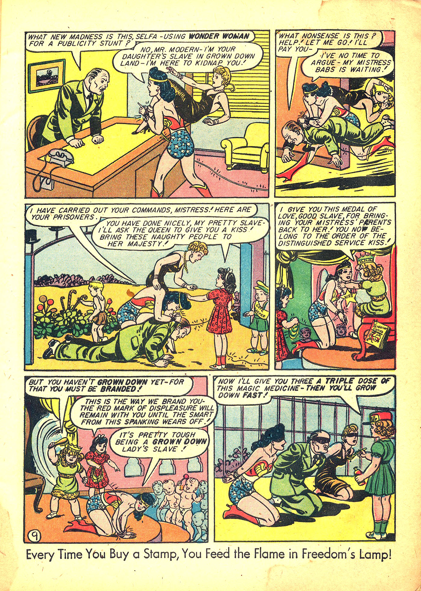Read online Sensation (Mystery) Comics comic -  Issue #31 - 11