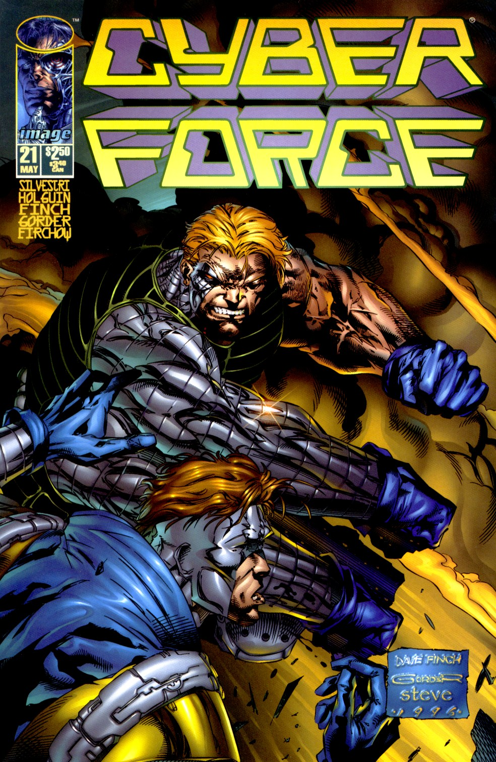 Cyberforce (1993) issue 21 - Page 1